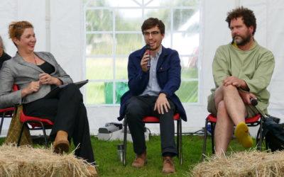 Scottow Enterprise Park Discusses 'Space Invaders' at Norfolk Enterprise Festival